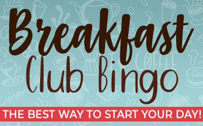 Breakfast Club BINGO Games
